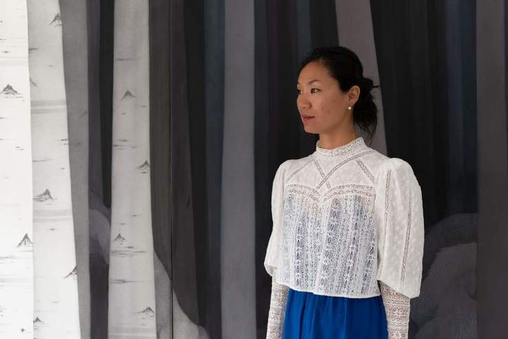 Mail 16 min jung yeon dans son atelier  tissage en cours d %c3%a9laboration aout 2019 1 large2