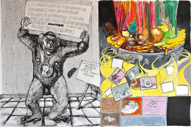 Laurent Okroglic - Galerie Claude Samuel