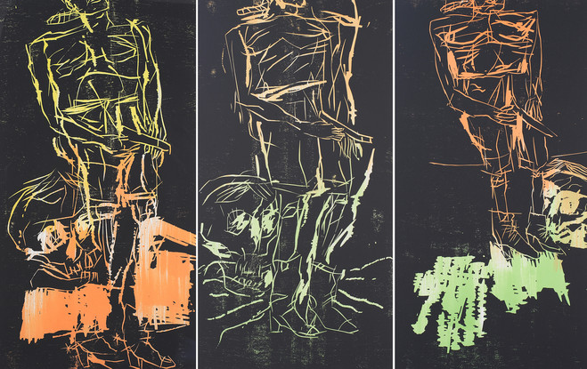 Georg Baselitz - Catherine Putman Gallery