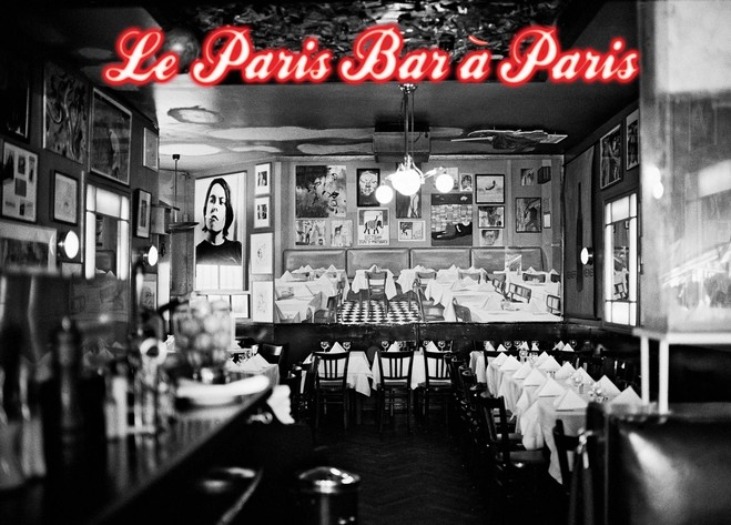 Le Paris Bar à Paris - Suzanne Tarasieve