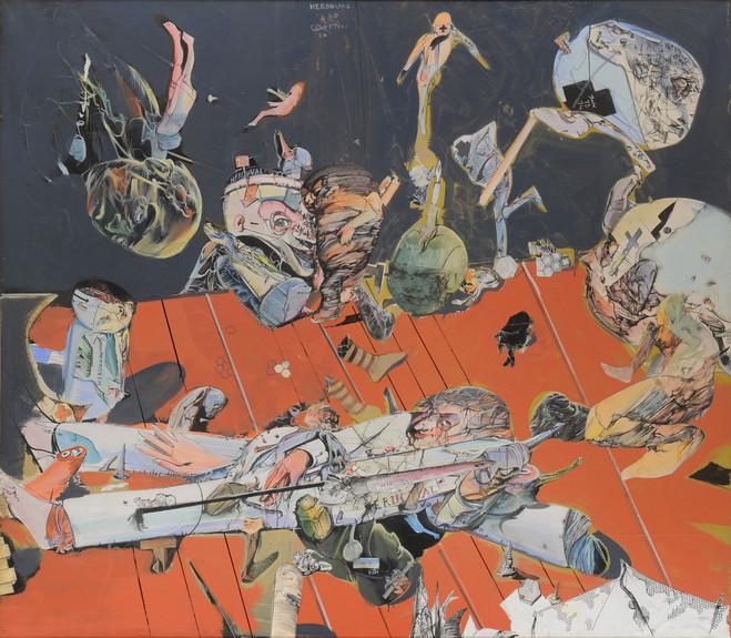 Hommage à Miodrag Djuric, Dado - Jeanne Bucher Jaeger  |  Paris, St Germain Gallery