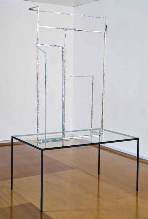 Des années de poudre recouvrant des années de jaune - Galerie Frank Elbaz