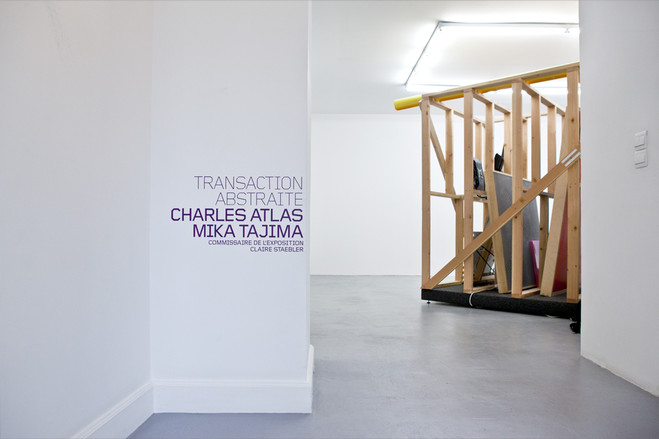 Transaction Abstraite - New Galerie