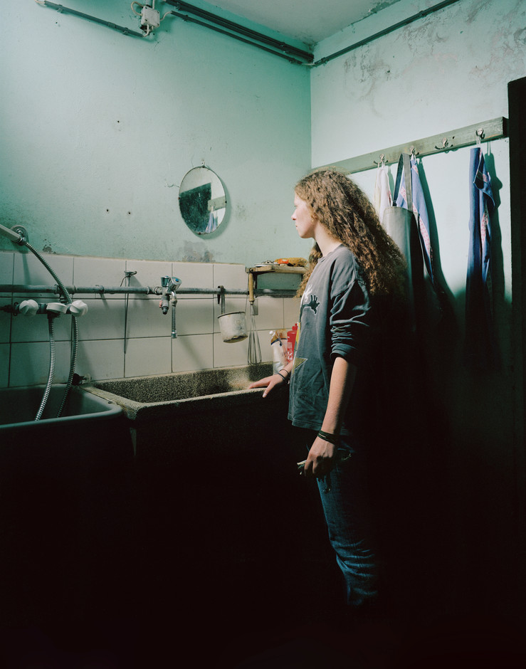 La jeune fille au miroir   2007  tirage jet d encre   80x100 cm large2