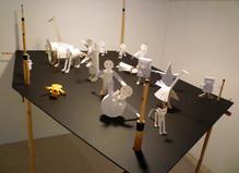 Michel Aubry / Rainier Lericolais / Richard Monnier - Galerie Eva Meyer