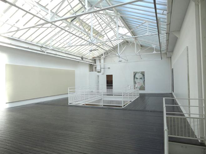 Paz Corona—Olivier Mosset - Les filles du calvaire Gallery