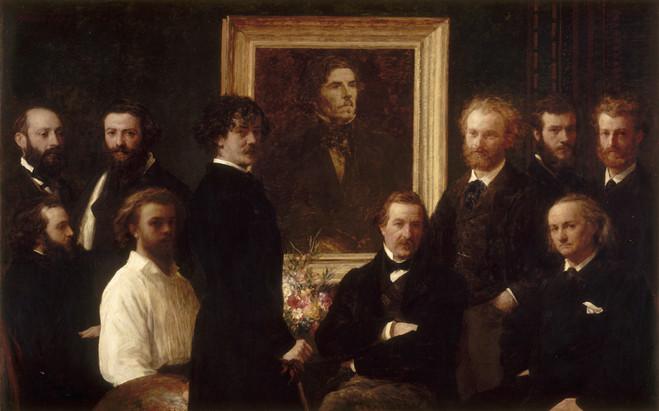 Fantin-Latour, Manet, Baudelaire - Musée Eugène Delacroix