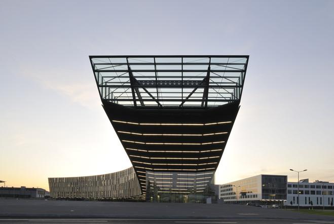 Dietmar Feichtinger Architectes, Paris/Vienne - La Galerie d'Architecture