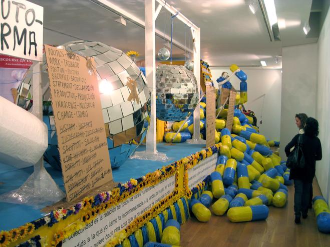 Thomas Hirschhorn - Chantal Crousel – La Douane Gallery
