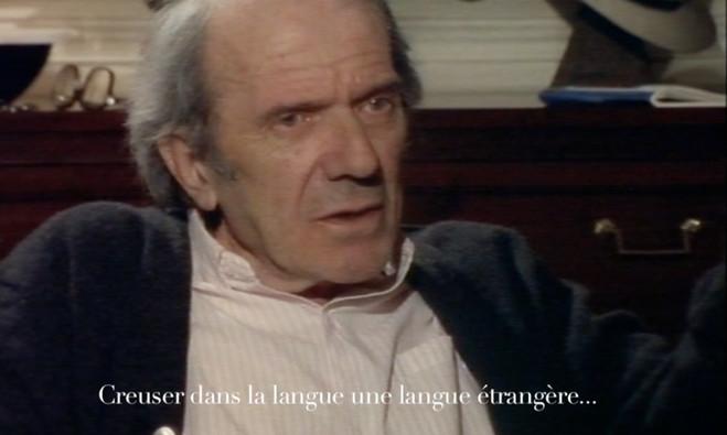 Creuser dans la langue une langue étrangère - Galerie Florence Leoni