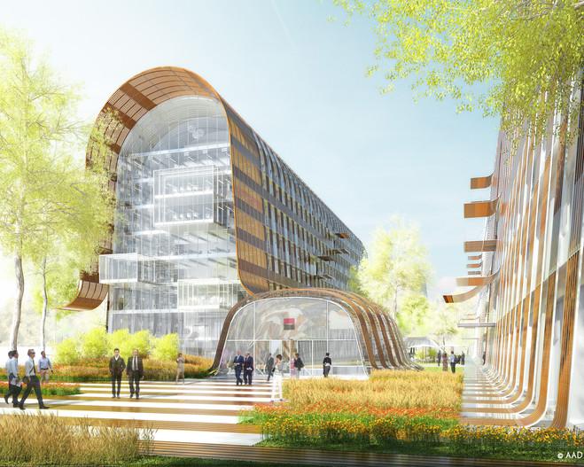 Anne Démians Architecte - La Galerie d'Architecture