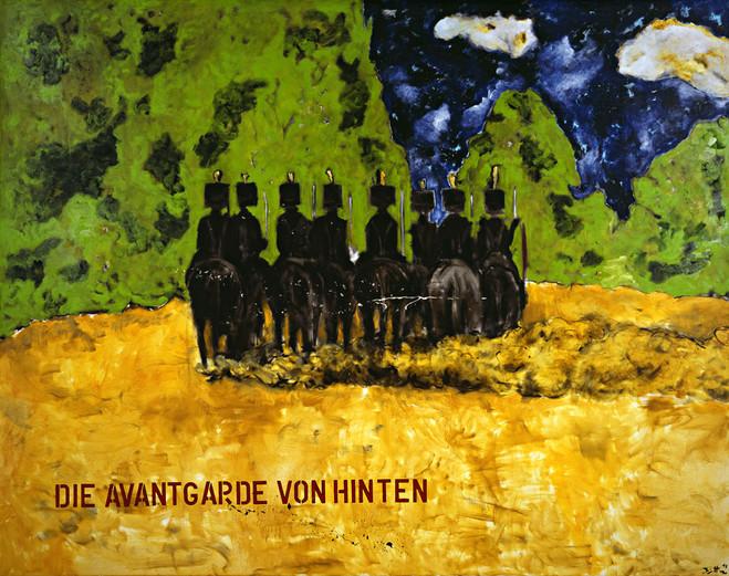 Die Avantgarde von Hinten - Eva Meyer Gallery