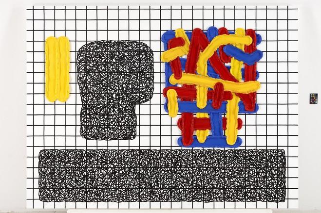 Jonathan Lasker - Galerie Thaddaeus Ropac Marais