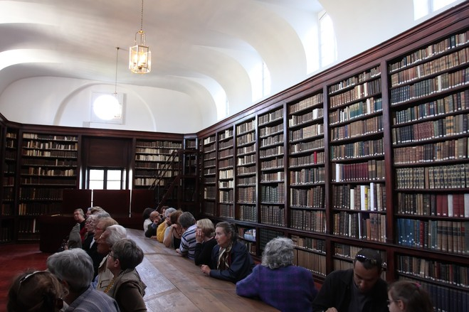 Visite de la Bibliothèque Patrimoniale - Centre culturel irlandais