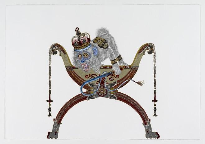 Raqib Shaw - Thaddaeus Ropac Marais Gallery
