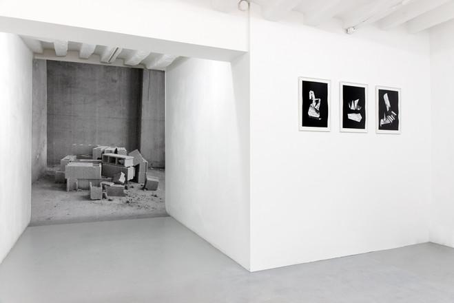 Déplis, trames et grilles - Galerie Dohyang Lee