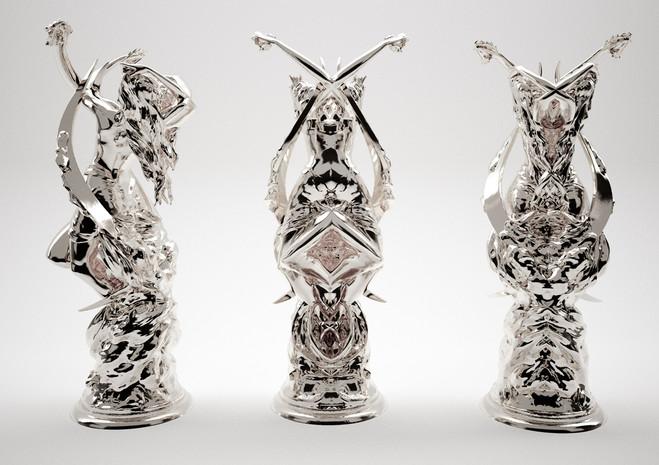 Wim Delvoye Rorschach - Galerie Emmanuel Perrotin