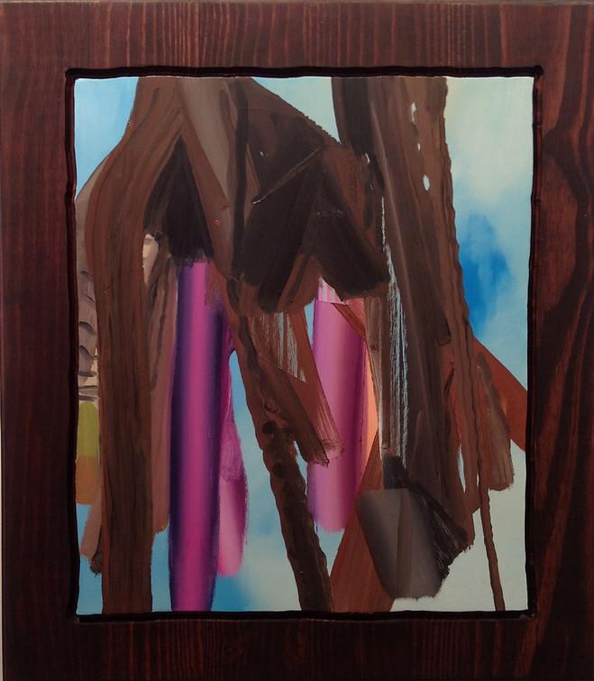 Carrie Moyer & Les Rogers - Suzanne  Tarasieve, Marais Gallery