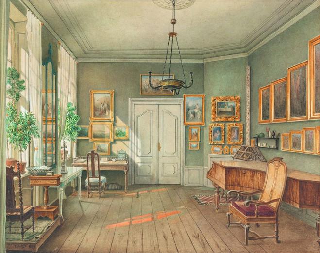Intérieurs romantiques, Aquarelles 1820-1890 - Musée de la Vie Romantique