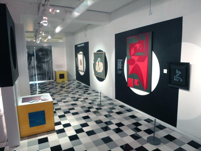 Vasarely vous a à l'oeil - Musée en Herbe