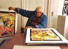 Hommage à Robert Jacobsen - Le Bicolore
