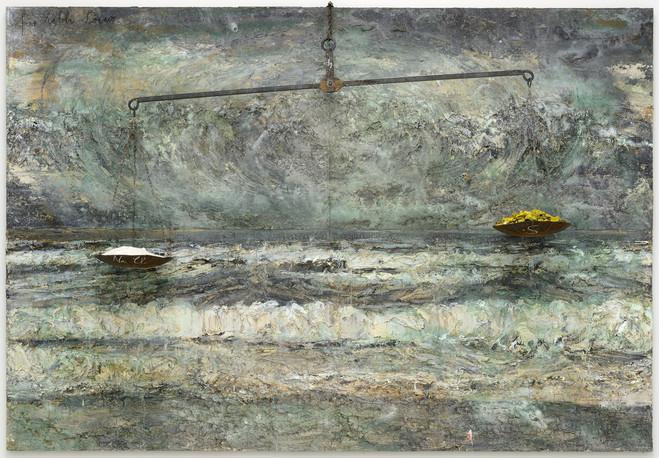 Anselm Kiefer - Thaddaeus  Ropac Paris Pantin Gallery