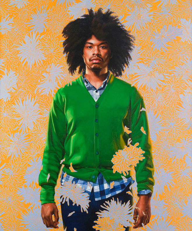 Kehinde Wiley - Daniel Templon Gallery