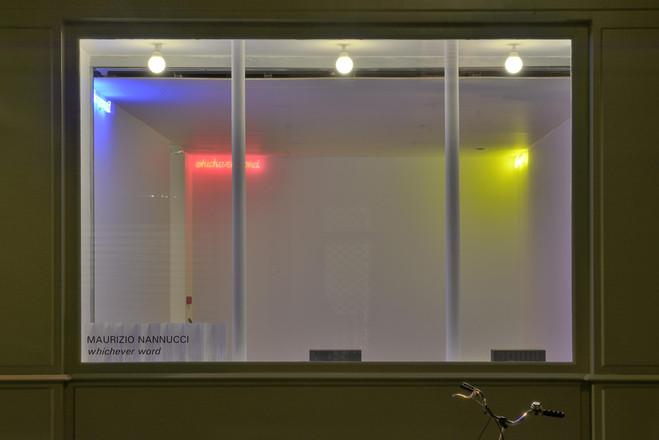 Annette Messager/Maurizio Nannucci - Galerie Mfc – Michèle Didier