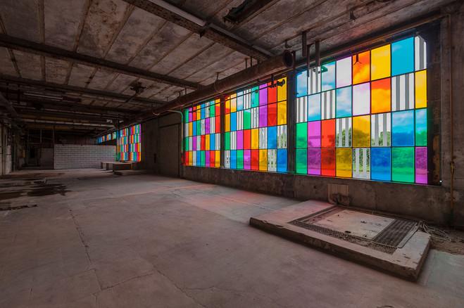 Daniel Buren - Galleria Continua / Le Moulin