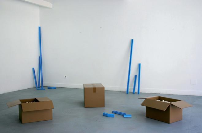 Morgane Fourey, Vue d'exposition - Galerie G-P & N Vallois