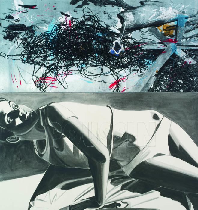 David Salle / Francis Picabia - Thaddaeus Ropac Marais Gallery