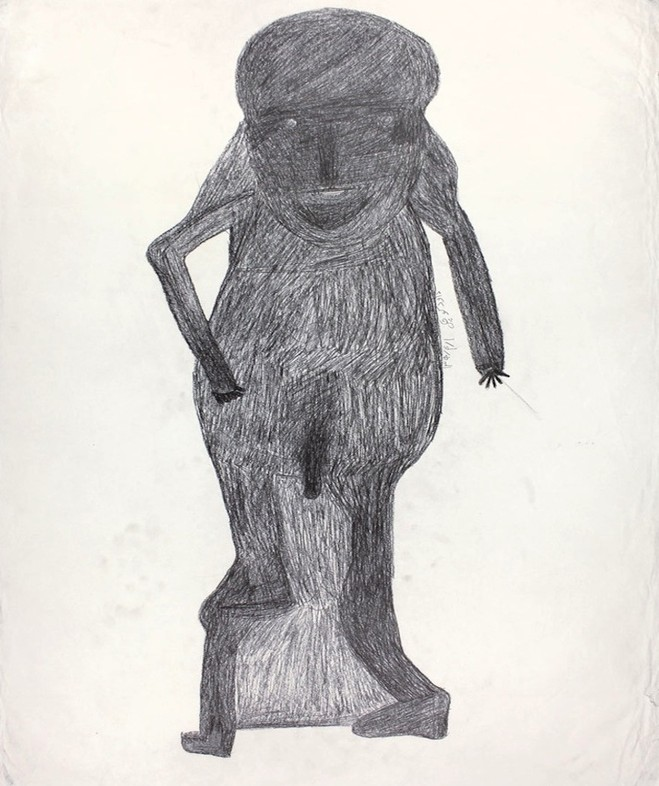 Davood Koochaki - Christian berst art brut (klein et berst)