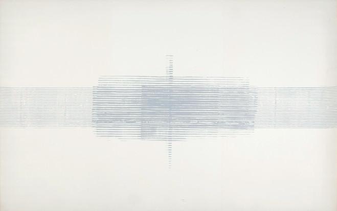 Jean Degottex—Le sourcier - Galerie Berthet – Aittouarès