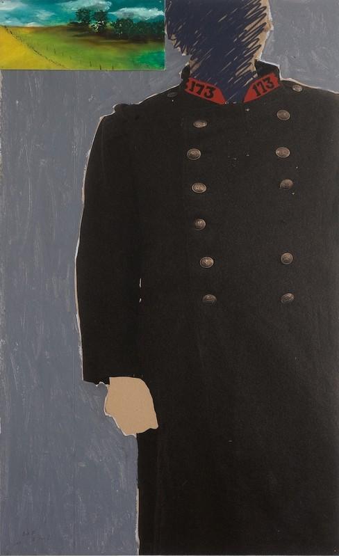 Pierre Buraglio - Catherine Putman Gallery