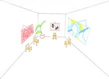 Salle d'attente III - Galerie Laurent Mueller