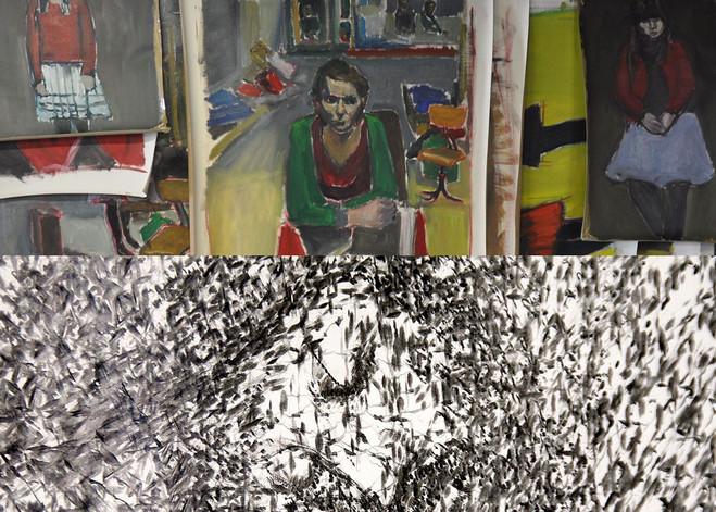 Damien Cabanes & Yazid Oulab - Eric Dupont Gallery