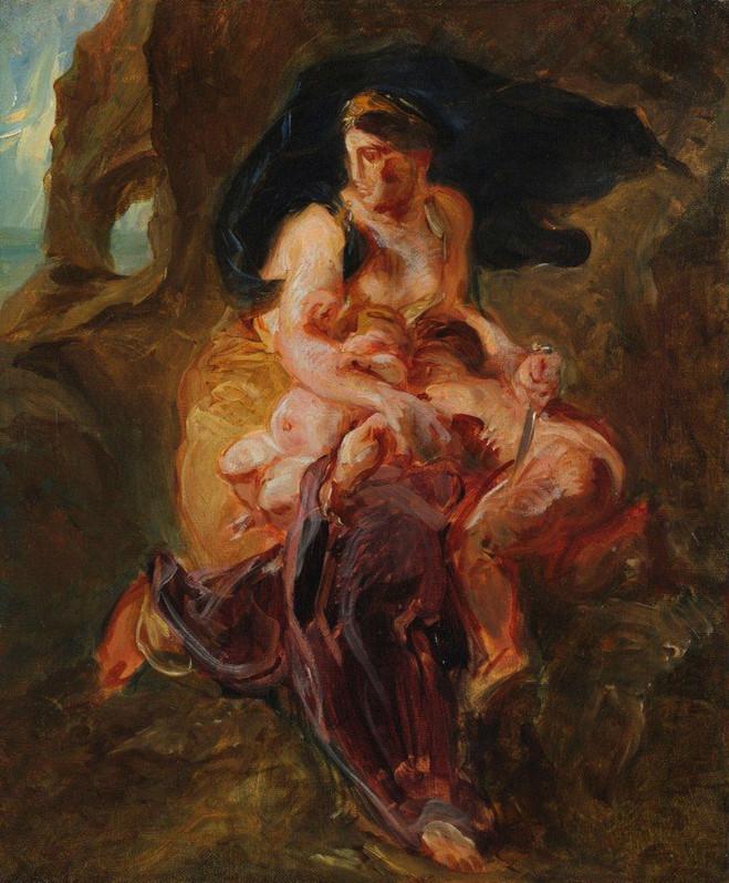 Esquisses peintes de l'époque romantique - Musée de la Vie Romantique