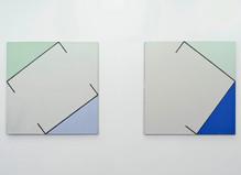 Martin Barré & R.H. Quaytman - Nathalie Obadia Gallery
