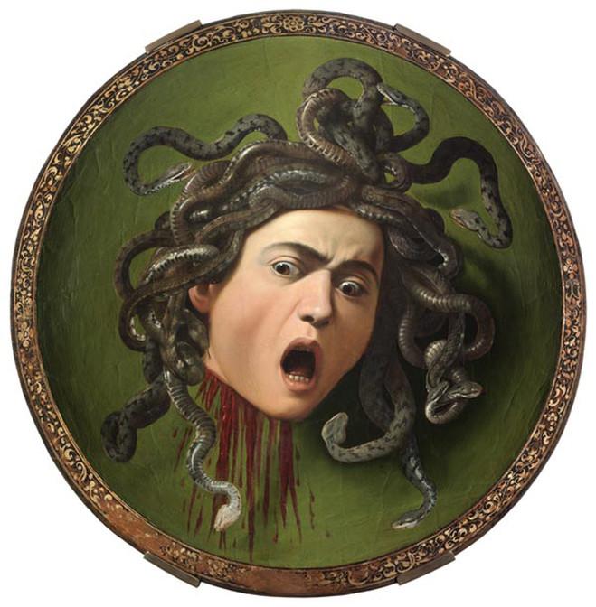Medusa Caravage Salon - Galerie Dominique Fiat