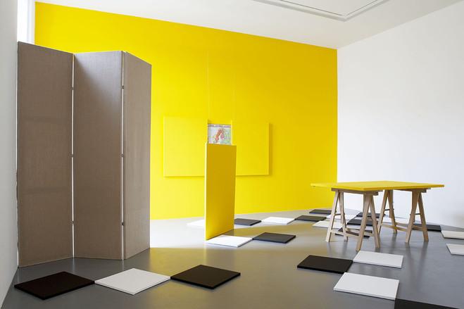 Claude Rutault - Galerie Emmanuel Perrotin
