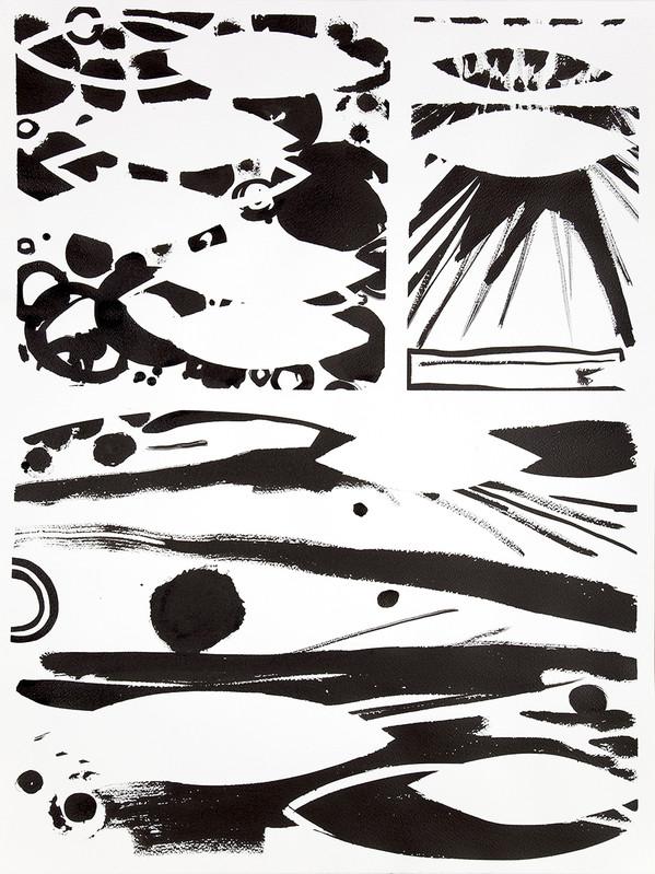 Presque noire et blanche - Galerie Jean Fournier