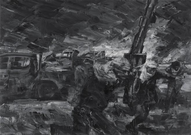 Yan Pei-Ming - Galerie Thaddaeus Ropac Marais