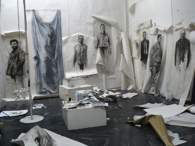 Ernest Pignon-Ernest - Galerie Lelong & Co