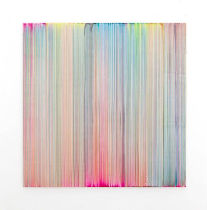 Bernard Frize - Emmanuel Perrotin – Saint Claude Gallery
