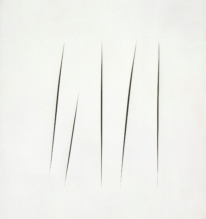 Lucio Fontana - Musée d'Art Moderne de la ville de Paris