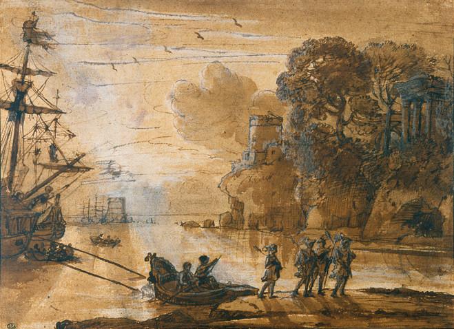 Le paysage à Rome entre 1600 et 1650 - École nationale des Beaux Arts de Paris — Cabinet des dessins