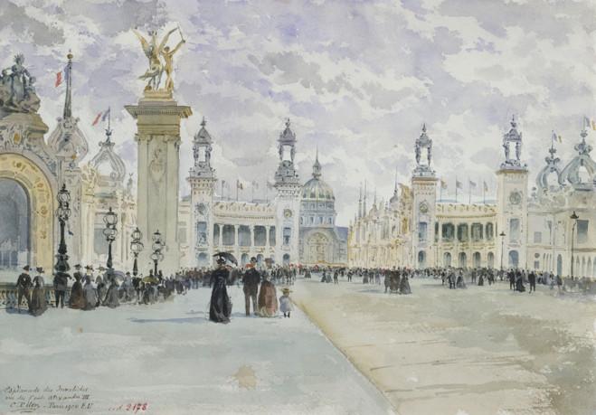 Paris 1900 - Petit Palais