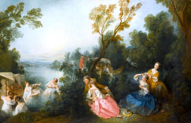 De Watteau à Fragonard, les Fêtes galantes - Musée Jacquemart-André