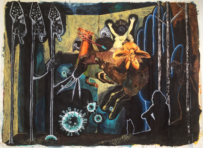 Damien Deroubaix - Galerie In situ — Hors les murs