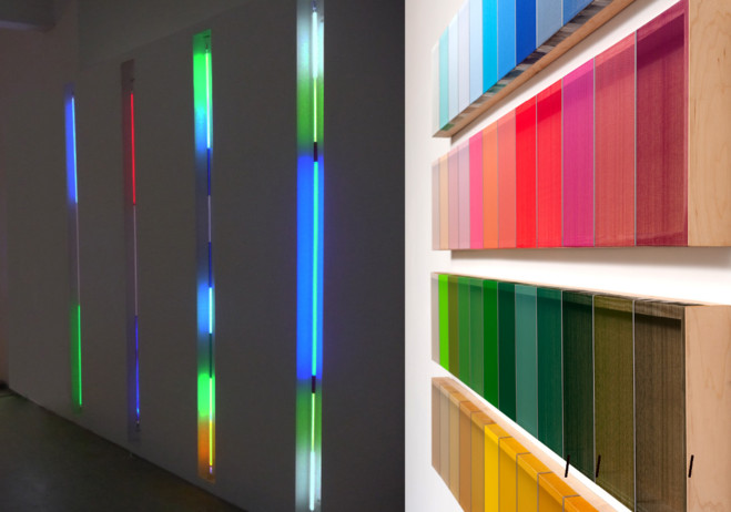 Strength of Illusion : Line and Light - Galerie Dominique Fiat